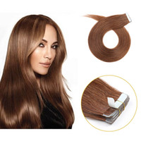 seamless top tape in hair extension 22inch real human hair t...