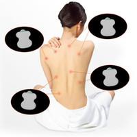 Gros 30 Pcs / lot Durable Tens Électrode Pads Pour Digital TENS Thérapie Acupuncture Machine Massager Pads Remplacement Soins de Santé