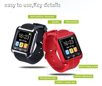 Cradle Bluetooth U8 Smartwatch Wrist Watches Touch Screen Fo...