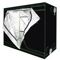 Mylar réfléchissant imperméable à l'eau de croissance Tente verte de la salle avec fenêtre d'obéservation et un plateau de plancher pour les fleurs d'intérieur