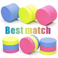 3 Layers Herb Grinder Zinc Alloy Macaron Color Mini Pink Tob...