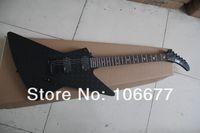 Бесплатная доставка 2014 новое прибытие пользовательские Explorer MX-250 II черный матовый краска специальный рисунок стандартная электрогитара горячая гитара