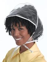 2018 جديد لون شفاف قبعة صامد للريح قبعة من البلاستيك المطر غطاء شفاف كوريا اليابان تايوان قبعة شعبية تسريحة الحماية
