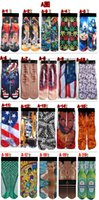 Fashion Men's Stockings Creative novelty Funny 3D Printed Breathable Socks Adult peoples Men's Women's 3D Unisex Stocking Soft Socks Wholesa
