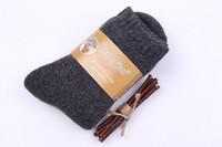 Kalın Rahat Erkekler 'ın Kış Çorap Kanada 30 Derece Sıfır Aşağıda Soğuk Yün Çorap Erkekler için Kazık Kalınlaştırmak Kazık çorap