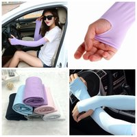 1 Pair Sun Cooling Arm Sleeves For Cycling Basketball Footba...