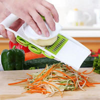 Multi- funtion Vegetable Fruit Slicer Stainless Steel Blades ...
