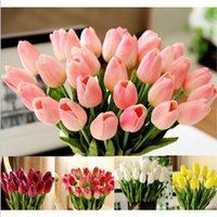 Wholesales Tulips Flower Fake Flowers Home Decor 13 Colors P...