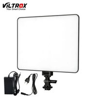 Viltrox VL-200 Pro Telecomando wireless LED Video Lampada da studio Slim Bi-Color dimmerabile + Alimentatore CA per videocamera Camcorder