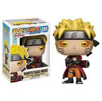 Funko Pop Animation: Naruto - Naruto Sechs Pfad / Sage-Modus Vinyl Action Figur mit Box # 185 / # 186 Geschenk Puppe Spielzeug
