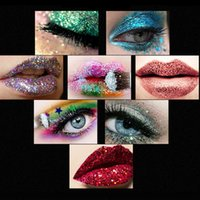 Hot Sell Makeup Glitter EyeLiner Shiny Long Lasting Liquid Eye Liner Shimmer eye liner Eyeshadow Pencils with 10 colors for choose