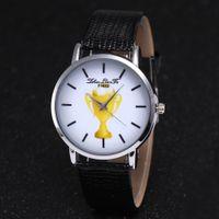 2018 World Cup Fußballplatz Uhr, Männer und Frauen Sport Fußballplatz Design Mode Armbanduhr F-388, Fußball Trophäe einfaches Geschenk Uhr