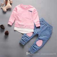 2018 new spring and autumn boys and girls children s wear ch...