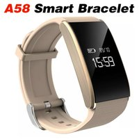 A58 Smart Bracelet Blood Pressure Heart Rate Monitor Intelli...