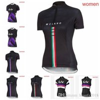LIV team Cyclisme Manches Courtes / Maillots Sans Manches Gilet Outdoor femmes Dames Chemise Séchage Rapide Sport T-shirt ropa ciclismo F0204