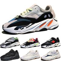 00af98846cd Corredor de Onda Kanye West 700 Botas Cinza Clássico Tênis Para homens 700  s das mulheres