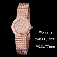 New All Diamond G0A26034 Jewelry Watches Swiss Quartz Womens...