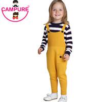 Campure 1-5Yrs Kind-Hosen Mode Kinderbekleidung Neue 2016-Baby-Mädchen Wollen Overall Baumwolle mehr Farbe Kinder Hosen