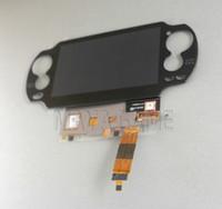 Orijinal Yeni PS Vita için PS LCD 1000 Ekran PSV1000 PSV 1000 Dokunmatik Ekran ile Dijital Montajlı Siyah