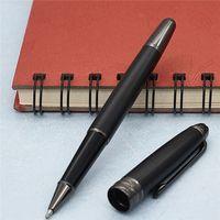 Stylo noir de haute qualité 163 stylo noir stylo à galets / stylo à bille et stylos à bille et stylos de fontaines pour l'écriture de cadeau