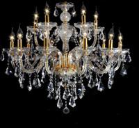 Luxus-LED-Kristall-Kronleuchter K9 große Kronleuchters 08.05.10.15/18 Armwohnzimmer moderne Lüster de Cristal-Krickelies