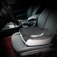 Comfort Coccyx Orthopedic Memory Foam Seat Cushion Office Chair Car Back Tailbone And Sciatica Pain Relief Washable Cover