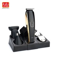 2018 new 5 in 1 Rechargeable Hair Trimmer Titanium Hair Clip...