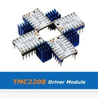 히트 싱크와 3D 프린터 부품 4 개 슈퍼 자동 TMC2208 스테퍼 모터 드라이버