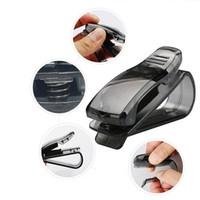 Araç gözlükleri çok işlevli araç gözlük rafını, sertifika kartını, Fatura kapağını, güneşlik, araba tuzağını, iç aksesuarlarını klipsler.