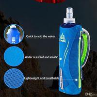 AONIJIE Outdoor 500ML Running Handheld Bottle de agua 5.5 pulgadas Phone Hydration Pack