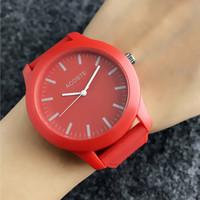 Crocodile Marque montres à quartz pour hommes femmes unisexe avec des animaux Style Dial bracelet silicone Montre bracelet LA06