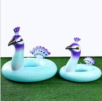 90 سنتيمتر الاطفال السباحة بركة مقعد حلقة العائمة الطاووس فراش الصيف المياه الرياضة شاطئ لعبة العائمة السباحة طوف بركة كرسي