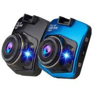1 قطع كامل hd سيارة dvr كاميرا فيديو على كاميرا داش كاميرا سيارة كاميرا 2.4 بوصة السيارات داش كاميرا مسجل للرؤية الليلية