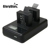 Для SJ4000 зарядное устройство USB жк-двойной зарядное устройство bateria sj7000 sj5000 sj6000 sj4000 SJ M10 для SJCAM sj4000 SJ5000 спортивная камера