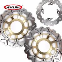 Arashi voor Honda CBR600RR 2003-2015 CBR1000RR 2004-2005 Voor Achterrem Schijf Disc Rotor 2006 2007 2009 2009 2010 2011 2012 2013 2014