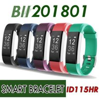 2018 ID115HR PLUS Smart Armband Sport Herzfrequenz Smart Band Fitness Tracker Armband Smart Uhr GPS ID115 PLUS