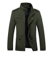 2018 New Men Jacket Coat Fashion Cotton Brand Clothing Bomber Jacket Coat Windbreaker Male Jaqueta Masculino Size 4XL