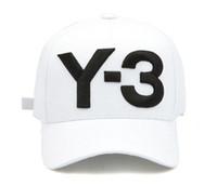 Dad Top Fashion Y3 chapéu corajoso grande Logo BONÉ ajustáveis esportes Strapback Chapéus Y3 osso Snapback Casquette viseira gorras