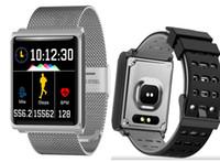 اللون الذكية ووتش N98 ماء سوار معصمه الذكية مع ضغط الدم معدل ضربات القلب للياقة المقتفي