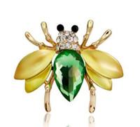 Бриллианты, прекрасные пчелы, булавки, новые драгоценные камни, броши для мужчин и женщин