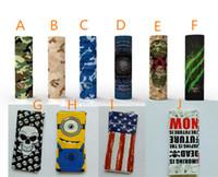 dernière vape mod 20700 21700 batterie wrapper vape chauffage rétractable PVC autocollant enveloppes électroniques accessoires pour fumeurs distributeurs UK trucs bon marché