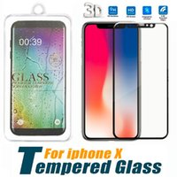 For iPhone X Samsung Note Full Cover Screen Protector Temper...