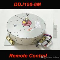 DDJ150 150 키로그램 6 메터 자동 원격 제어 샹들리에 호이스트 조명 리프팅 시스템 전기 윈치 램프 모터 AC 85-265 볼트