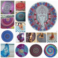 Mandala Beach Towel Indian Beach Throw Tapestry Chiffon Prin...