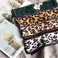 Free shipping 2018 Classic Leopard Scarf Wrapped Handbag wit...