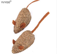 YVYOO Pet Cat toy Catnip Toys Fake mice Clean the mouth Add ...