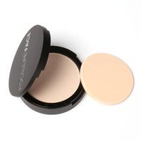 FOCALLURE 3 Couleurs Marque Maquillage Visage Fond de Teint Poudre Blanc Chatoyant Highlight Palette de Poudre Pressée FA16