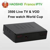 HAOSIHD dvd- s2 Receiver France Intelligent Iptv decoder 3500...
