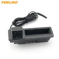 FEELDO заднего вида парковка Ствол ручка камера для Audi A6L / 2011 Q7 A4 / 2011 12 Резервное копирование камеры # 2061