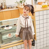 Cute Girls Dress Preppy Style Silm A- line Skirt For Princess...